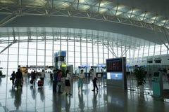 Binnenlandse mening van Noi Bai International Airport Royalty-vrije Stock Foto's