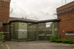 Binnenlandse poort, die Gevangenis, Berkshire lezen Royalty-vrije Stock Fotografie