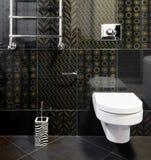 Binnenlandse ruimte in zwarte kleuren royalty-vrije stock afbeelding