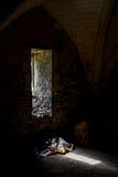 Binnenlandse scène van Tempelmanor in Rochester, Kent, Engeland Stock Afbeelding