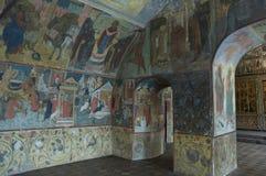 Binnenlandse schilderijen van Kerk Ilya de Helderziende Stock Afbeelding