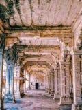 Binnenlandse secties van oud fort stock foto