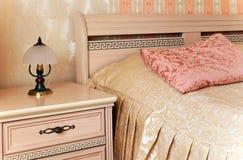 Binnenlandse slaapkamer Royalty-vrije Stock Foto