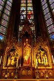 Binnenlandse St. Johns Kathedraal, Den Bosch Stock Fotografie