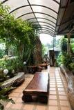 Binnenlandse tuin Royalty-vrije Stock Afbeeldingen
