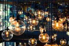 Binnenlandse verlichtingsdecoratie stock afbeeldingen