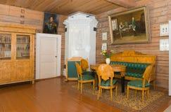 Binnenlandse woonkamer Stock Foto's