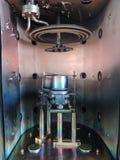 Binnenluchtledige kamer van magnetron sputterend systeem royalty-vrije stock foto's