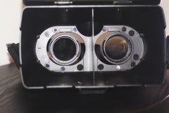 Binnenmening van VR-glazenbeschermende brillen Royalty-vrije Stock Foto