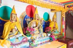 BINNENmongolië, CHINA - 14 Augustus 2015: Buddastandbeelden in Meidai Lam Stock Afbeeldingen