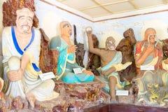 BINNENmongolië, CHINA - 14 Augustus 2015: Buddastandbeelden in Meidai Lam Royalty-vrije Stock Afbeeldingen