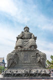 BINNENmongolië, CHINA - 13 Augustus 2015: Standbeeld van Altan Khan (Alata Royalty-vrije Stock Fotografie