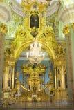 Binnenpeter en Paul Cathedral, St. Petersburg Royalty-vrije Stock Foto