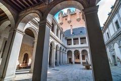 Binnenplaats in Alcazar Royalty-vrije Stock Afbeelding