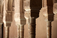 Binnenplaats, Alhambra Royalty-vrije Stock Afbeelding