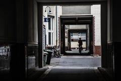Binnenplaats in Berlijn Stock Fotografie