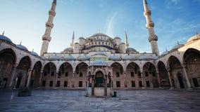 Binnenplaats bij Blauwe Moskee, Istanboel Royalty-vrije Stock Afbeelding