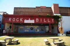 Binnenplaats bij het Internationale Hall of Fame rots-a-Billy in Jackson, Tennessee Stock Foto
