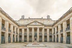 Binnenplaats binnen de Nationale Capitoolbouw Royalty-vrije Stock Foto