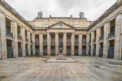 Binnenplaats binnen de Nationale Capitoolbouw Stock Afbeeldingen