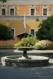 Binnenplaats in Rome Royalty-vrije Stock Foto