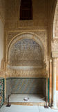 Binnenplaats van de Mirte (Patio DE los Arrayanes), Alhambra Stock Foto