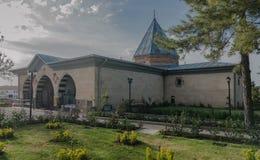 Binnenplaats van Haji Bektash Veli Tomb Royalty-vrije Stock Foto's