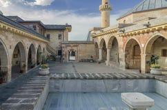 Binnenplaats van Haji Bektash Veli Tomb Royalty-vrije Stock Afbeelding