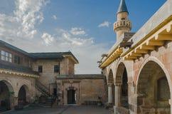 Binnenplaats van Haji Bektash Veli Tomb Stock Afbeeldingen