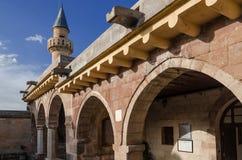 Binnenplaats van Haji Bektash Veli Tomb Stock Afbeelding