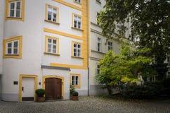 Binnenplaats in Wenen Royalty-vrije Stock Foto's