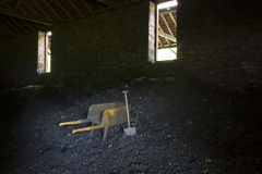 Binnensteenkoolbak Royalty-vrije Stock Afbeeldingen