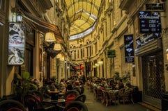 Binnenstraat in Boekarest, Roemenië Stock Afbeelding