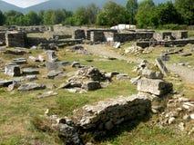 Binnenulpia Traiana Augusta Dacica Sarmizegetusa 8 Royalty-vrije Stock Foto's