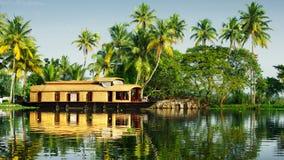 Binnenwateren van Kerala Royalty-vrije Stock Foto's
