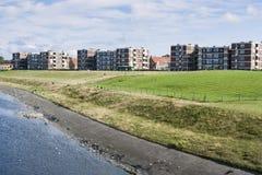 Binnenwaterring em Katwijk Zee aan foto de stock royalty free