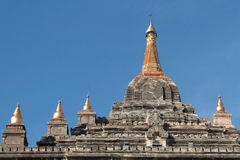 That Binnyu pagoda  summit Stock Photography