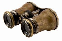 Binocolo antico Fotografie Stock Libere da Diritti