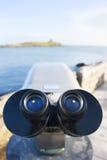 Binocolo dal mare Fotografie Stock