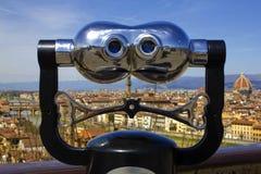 Binocolo a Firenze Immagine Stock Libera da Diritti