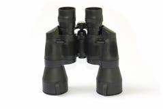 Binocolo nero isolato Fotografia Stock Libera da Diritti
