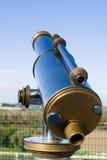 Binocolo, piattaforma di osservazione Fotografia Stock
