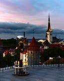 Binocolo sul punto di vista di Tallinn Fotografia Stock Libera da Diritti