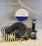 Binocolo sull'abito Fotografia Stock
