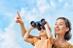 binoculair Stock Foto