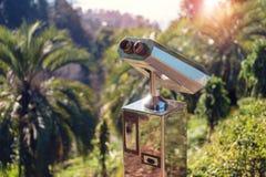 Binoculaire métallique photo libre de droits