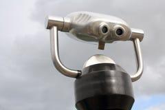 Binocular 1. Old Style Coin Binocular in Quebec City Stock Photo