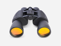 Binocular. On withe background zoom stock images