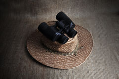 Binocular. Royalty Free Stock Images