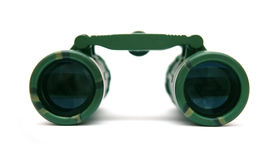 Binocular. Camouflage binocular isolated on white Stock Photography